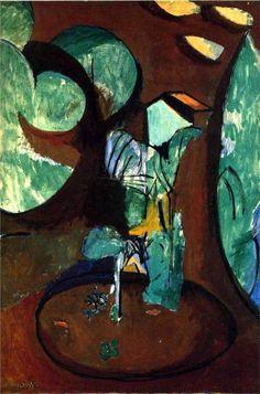 Henri Matisse:  Jardin À Issy (L'atelier À Clamart) ca. 1917