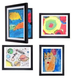 My Li'l DaVinci Kids Art Frames come in & sizes, each frame can store up to 50 pages Kids Artwork, Artwork Pictures, Ornate Picture Frames, Frame Store, Art Storage, Rainy Day Activities, Frame Display, Old Antiques, Cadre Photo