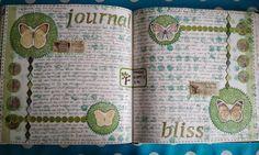 Caatje's Artsy Stuff: art journal