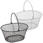Essentials Wire Oval Baskets