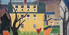 blanche lazzell artist | Blanche Lazzell's white-line color woodcut The Flaming Bush , 1933 ...