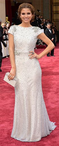 2014 Academy Awards Fashion & Beauty Trends: SLEEVES -> Maria Menounos