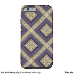 Box Tiled Design Tough iPhone 6 Case