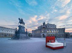 Baccara Headboard, Treca Interiors Paris - Opera, Dresden - Germany