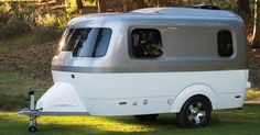 LITTLE BABY AIRSTREAM IS HERE TO MAKE SUMMER ROAD TRIPS MOREADORABLE. Got a mid-size SUV? This camper was made for you.