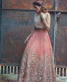 #Omorose new campaign starring #AmnaBaber in pink lehnga Choli ✨✨ . Photography: @abdullahharisfilms #styleonset