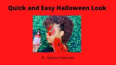 Quick and Easy Halloween Looks 2020| Ft. Gemini Naturals| Temporary Hair... Cute Natural Hairstyles, Protective Hairstyles For Natural Hair, Black Women Hairstyles, Halloween Looks, Halloween Make Up, Halloween Costumes, Long Natural Hair, Natural Hair Styles For Black Women, Temporary Hair Color