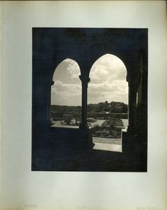 The Cloisters : photographs 1938. Volume 3. Cloisters Archives collection. The Metropolitan Museum of Art, New York. Cloisters Library and Archives. (b15863037) | Springtime is the perfect time to visit The Cloisters and enjoy the wonderful smells of the Bonnefont herb garden. #thecloisters