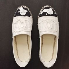 Chanel Espadrilles Authentic. Like new. Final sale. Pls ask questions before purchasing CHANEL Shoes
