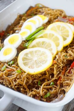 I shared this Pancit Recipe in the Kainang Pinoy blog and I thought I will share it here too. I made this for my son's birthday party to wish him long life. In the Philippines, we serve Pancit during birthdays to wish the celebrant long life and good health;but in our household, I make Pancit all … … Continue reading →