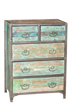Vintage Industrial Drawer, Reclaimed Teak Wood Decor, Wood, Reclaimed Wood, Vintage Industrial Furniture, Furniture, Teak Wood, Industrial Drawers, Home Decor, Vintage