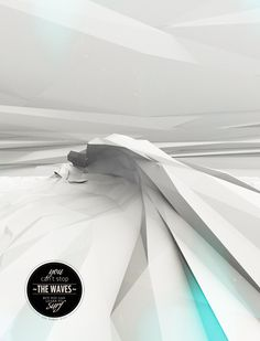 The Waves by Elias Freiberger, via Behance