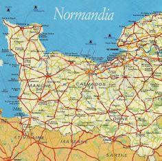NORMANDIA Francia, itinerari e luoghi da visitare in Normandia