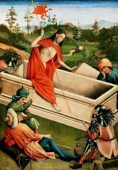 Resurrection of Christ by Johann Koerbecke