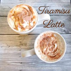 Tiramisu Latte Seduction in the Kitchen
