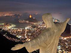 """The """"Cristo Redentor"""" , Rio de Janeiro."""