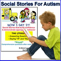 Social Stories ~ Re-pinned by Total Education Solutions.  Check out the rest of our School Resources and Therapy pins @ http://pinterest.com/totaleducation