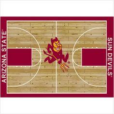 "NCAA Court Novelty Rug Rug Size: 7'8"" x 10'9"", NCAA Team: Arizona State Milliken http://www.amazon.com/dp/B003UDB314/ref=cm_sw_r_pi_dp_45mStb049B1SP93A"