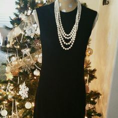 "SALE Zara Basic Black Dress Perfect Black Dress for any Occasion. Great Condition 40"" from top of dress to bottom Zara Dresses"