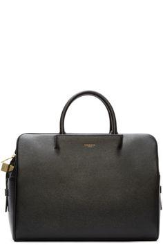 Wooyoungmi Black Leather Briefcase Mallette Pour Femmes, Chapeaux Pour  Hommes, Sac À Main, 1537d87b445