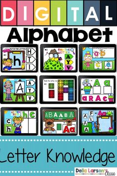 Fun ideas for teaching the alphabet in kindergarten. Make sure your preschool students have the read Kindergarten Readiness, Kindergarten Lesson Plans, Kindergarten Classroom, Kindergarten Preparation, Preschool Kindergarten, Literacy Stations, Literacy Skills, Literacy Centers, Interactive Learning