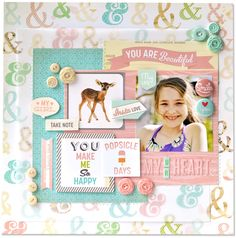 Amy heller layout girl talk ⊱✿-✿⊰ Follow the Scrapbook Pages board visit GrannyEnchanted.Com for thousands of digital scrapbook freebies. ⊱✿-✿⊰