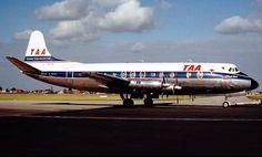 TAA Vickers Viscount 816 (VH -TVQ)