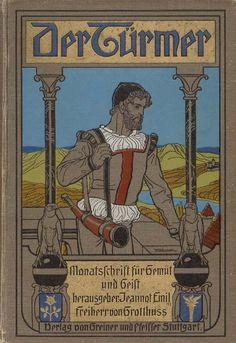 Jennot Emil Freiherr von Grotthuß, (Hrsg.): Der Türmer . Monatszeitschrift für Gemüt und Geist . Achter Jahrgang . Band 1. Verlag von Greiner & Pfeiffer, Stuttgart, 1906.