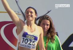 I've got a new favorite Olympic sport and it's the Women's Hurdles. Watch Australian runner Michelle Jenneke smoke her competition in the sexiest pre-run routine ever witnessed on camera.