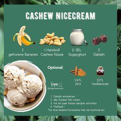 Wer braucht da bitte noch normale Eiscreme ? Diese Kreation ist aktuell mit Abstand meine LIEBSTE  Cremig süß und noch dazu gesund    Was ist dein liebstes Nicecream Rezept ? Bin immer auf der Suche nach neuen Inspirationen       Für MEHR folge uns auf @veganwassonst             #veganwassonst #nicecream #bananen #veganeseis #eiscreme #datteln #cashews #veganerezepte #gesundundlecker #fitwerden #gesundleben #gesundeernährung #gesundkochen #ernährungsumstellung #vegandeutschland… Eggs, Breakfast, Food, Icecream Craft, Meal, Frozen Banana, Morning Coffee, Essen, Egg