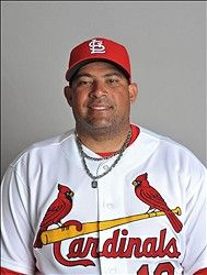 Assistant hitting coach Bengie Molina 2013