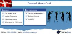 Planning for move to #Denmark, then know about #DenmarkGreenCard scheme. Know more by filling enquiry form @ http://www.morevisas.com/quick-enquiry/