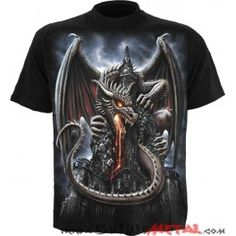 Camiseta Dragon Lava