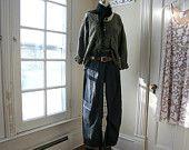 SALE - In Stock - Lagenlook Jeans / Breathe Gangsta Slouch Jeans / Denim Pants