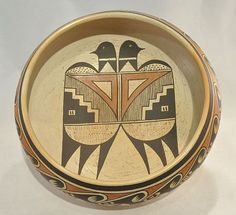 Pueblo Pottery, Hopi-'Hopi Pottery by Fannie Nampeyo'-Len Wood's Indian Territory