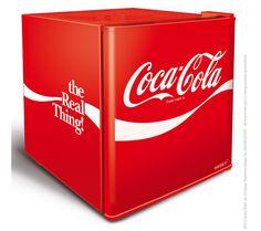 Coca Cola HUS-EL207 Mini Fridge - Red
