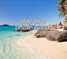 Stay on private island