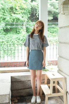 Saloon Skirt | Korean Fashion