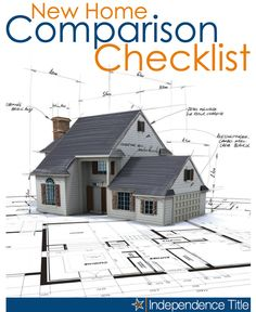 New Home Comparison Checklist #movetoaustintx #homepricestexas