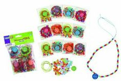 Multi Colors The Beadery 4-Ounce Bag of Mixed Sprgtime Beads Sonstige