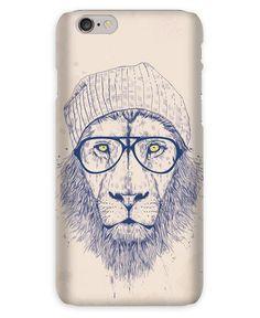Cool lion als iPhone 6s Hülle von Balázs Solti | JUNIQE