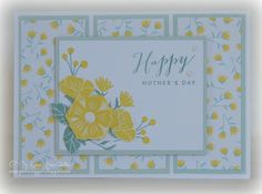I'm just loving the tiny sweet flowers in the Happy Times paper pack!    http://stampinheaven.ctmh.com/Default.aspx