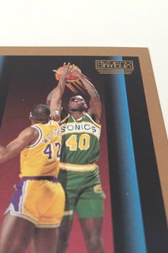 1990 Skybox Shawn Kemp Rookie Card - Seattle Supersonics NBA Basketball Star - Trading Card, Collectible