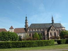 Eglise des Jésuites à Molsheim, située rue Notre-Dame, cette église est l'une des plus vastes d'Alsace après la cathédrale de Strasbourg. Elle a été construite en seulement 2 an et 9 mois (1615).