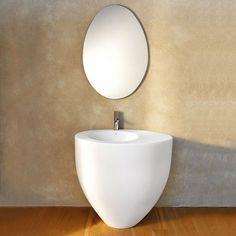 Freestanding Washbasin Colored Talco Le Giare   Wash Basin Colored Bathroom  Ceramica Cielo