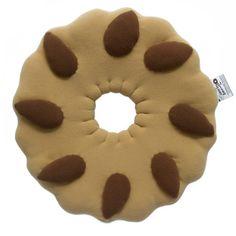 """Cuscino Biscotto Bucaneve! """"Semplice di natura!"""". Osserva la nostra sezione dedicata ai cuscini biscotto su carillobiancheria.it  http://www.pinterest.com/carillobiancher/cuscino-biscotto/"""