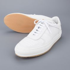 Common Projects Baseball low white nubuck