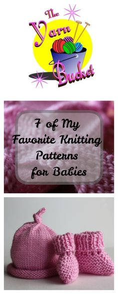 7 of My Favorite Knitting Patterns for Babies