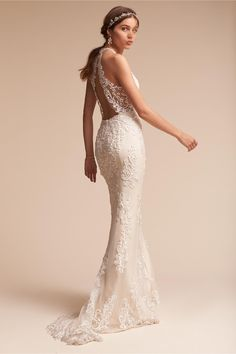 BHLDN's Watters Sookie Gown in Ivory/oyster