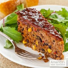 Spice things up with our Santa Fe Meatloaf!